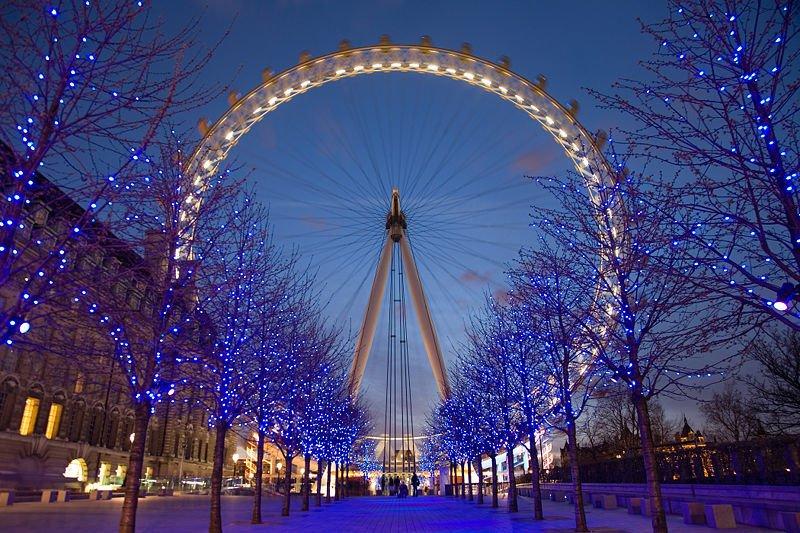 Лондон по Коледа