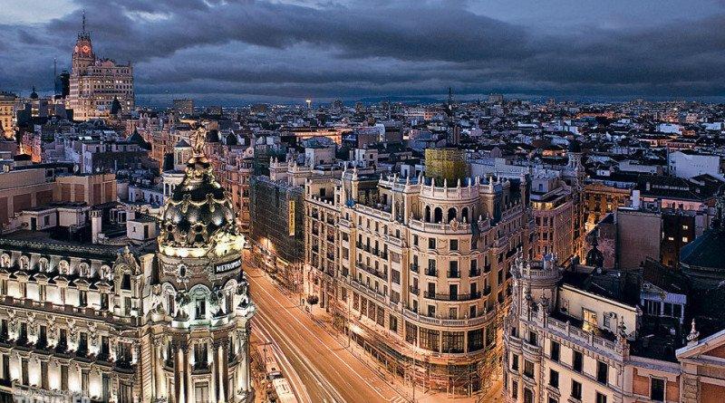 Мадрид снимка
