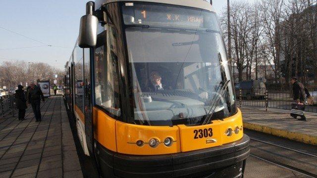 Трамвай 1 София
