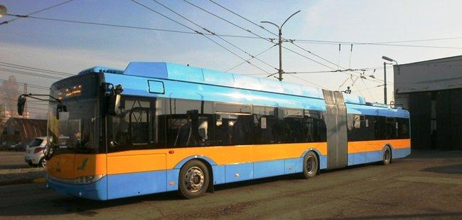 Trolejbus Sofiya Karta Napyt Net