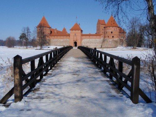 Замъка Тракай