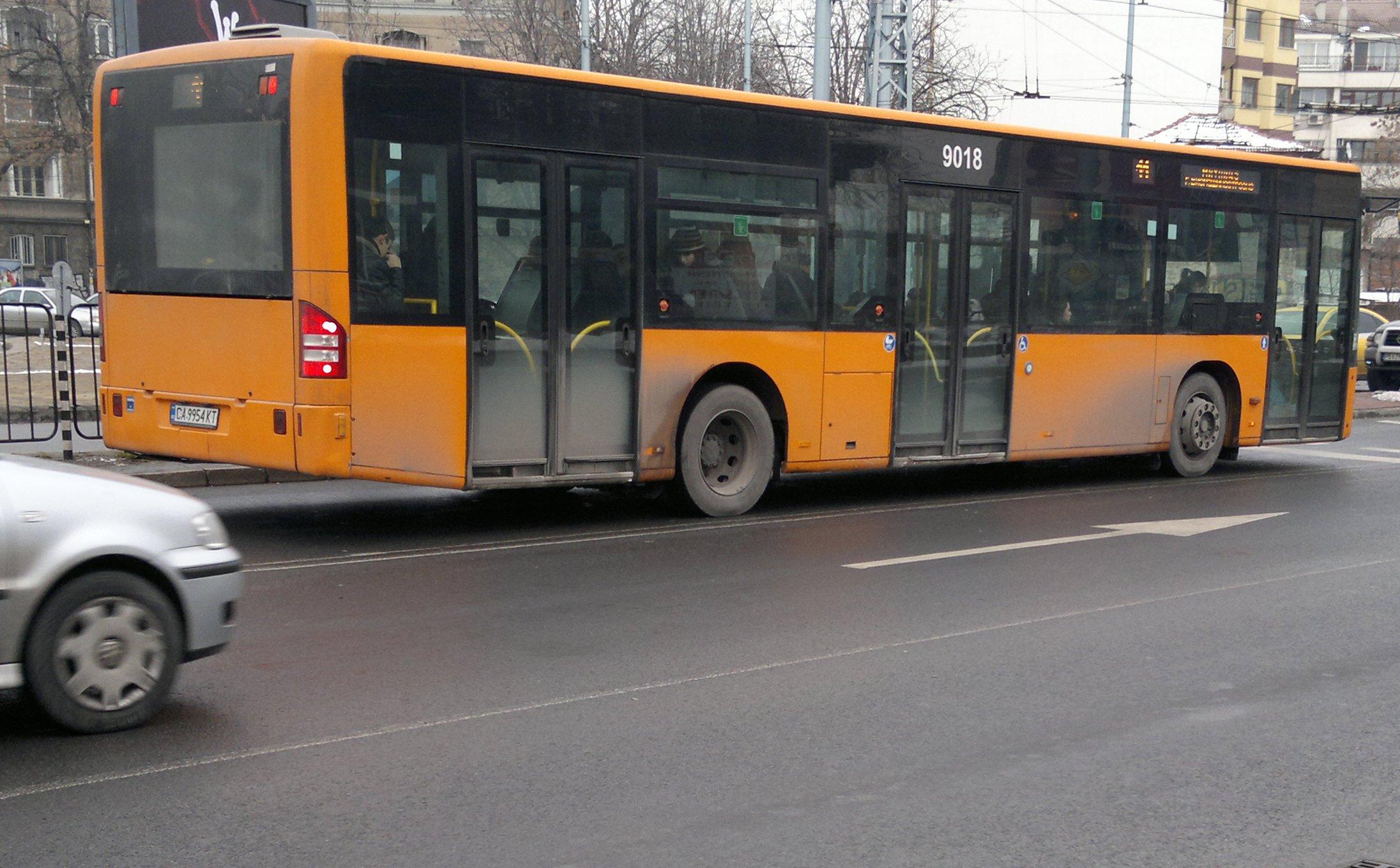 Маршрут и разписание на автобус 9 – София