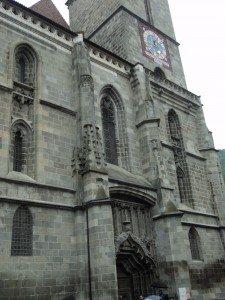 черната църква брашов