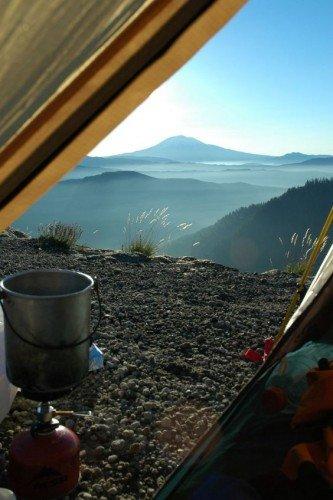 amazing mountain view