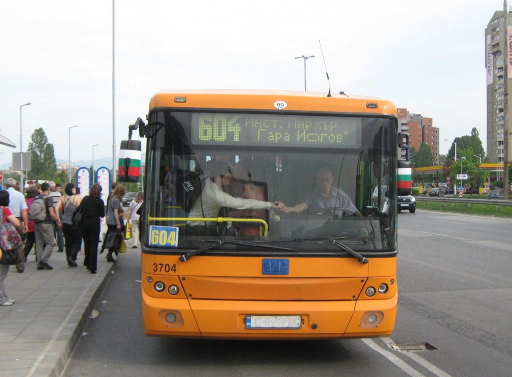 Маршрут и разписание на автобус 604 – София