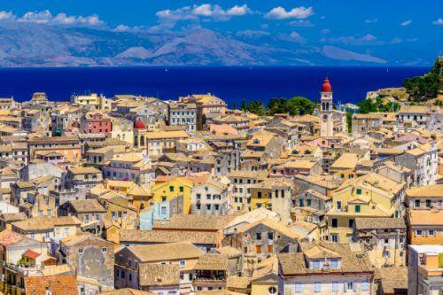 старият град Корфу