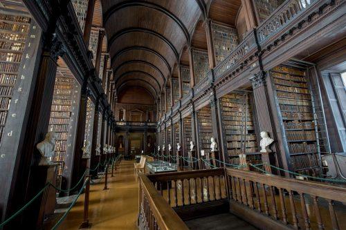 библиотеката в Дъблин