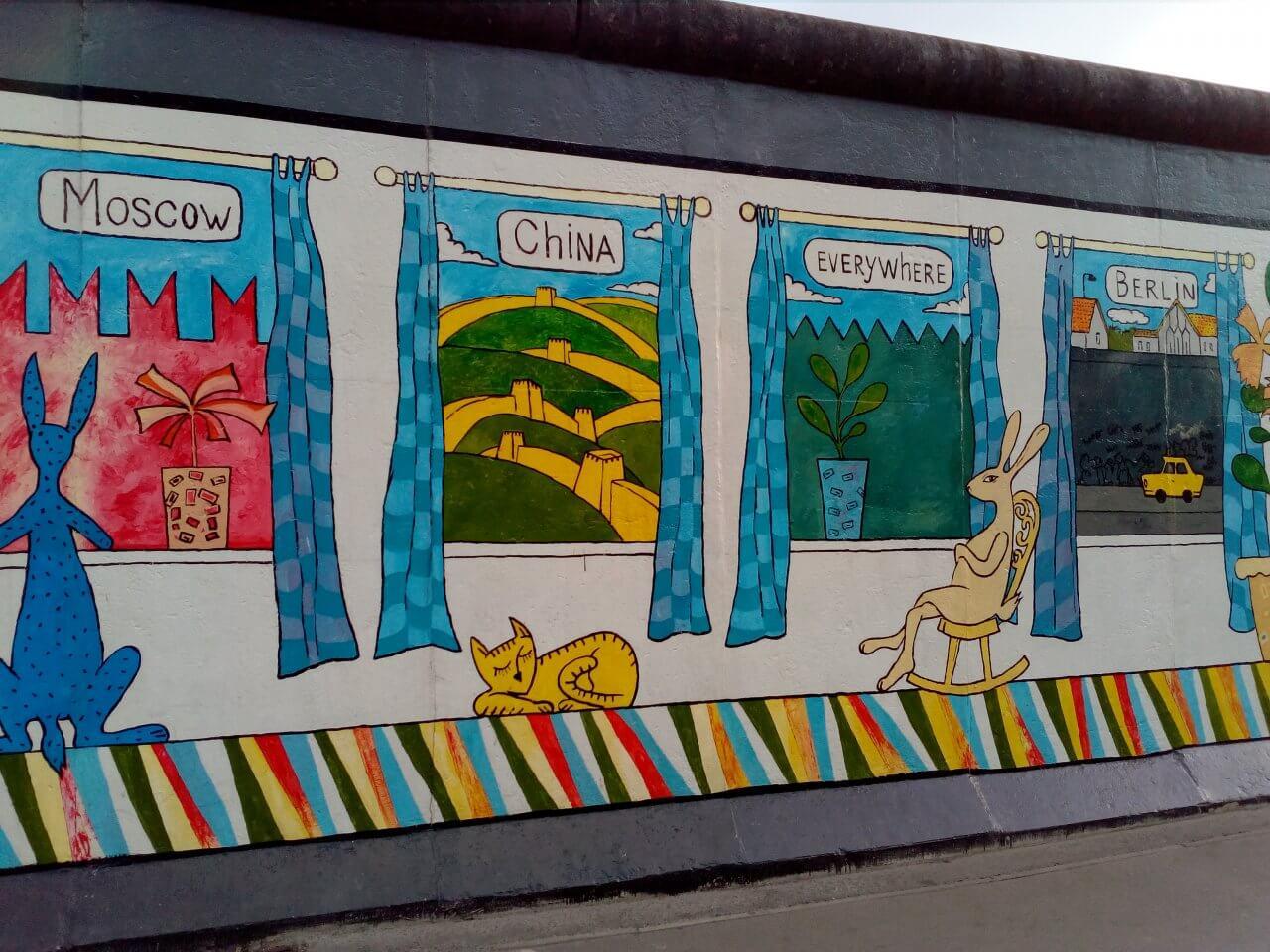 Източната Галерия в Берлин