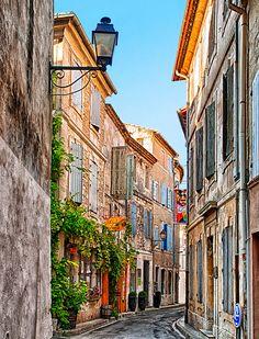 старите улици на Сен Реми