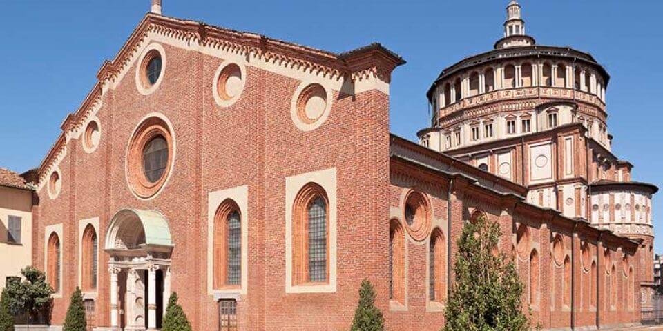 базиликата Санта Мария в Милано