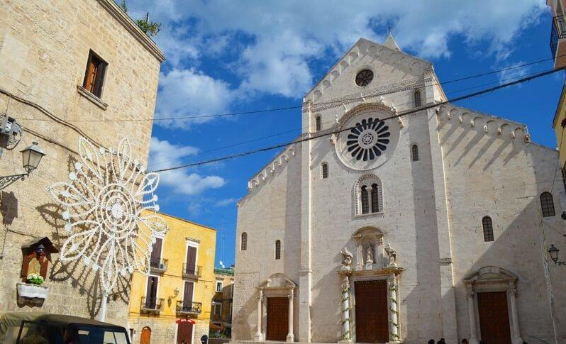 църква в Пулия, Южна Италия