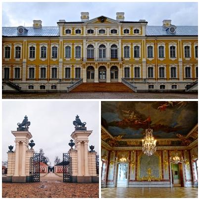 Рундалският дворец Латвия