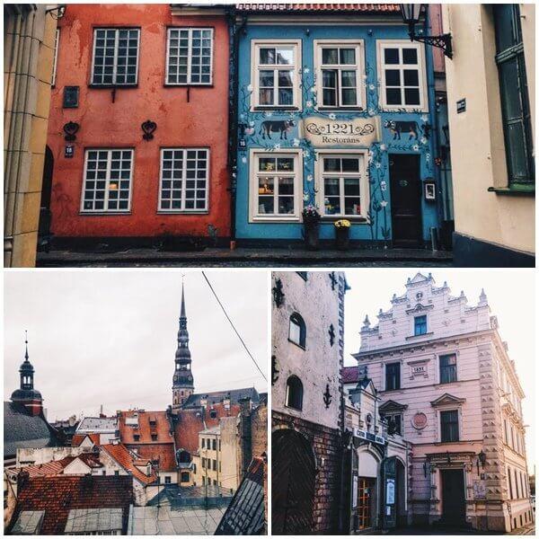 Старият град в Рига