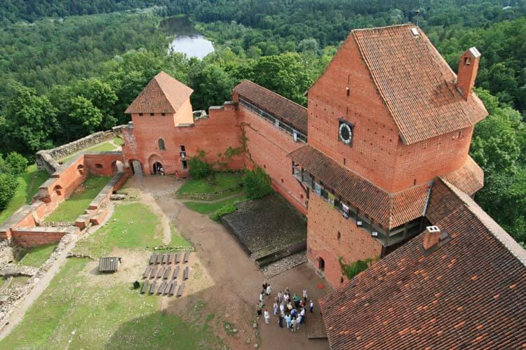 Замъкът Турайда в Сигулда, Латвия