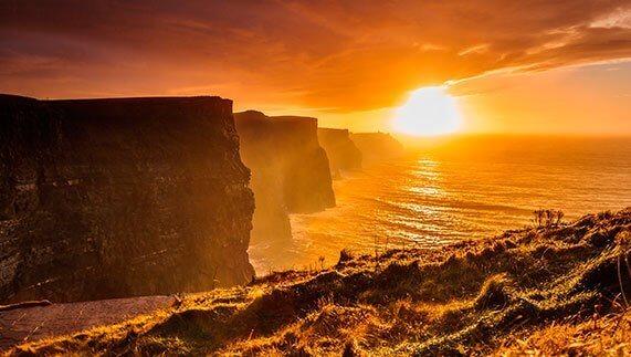 скалите на мохер ирландия