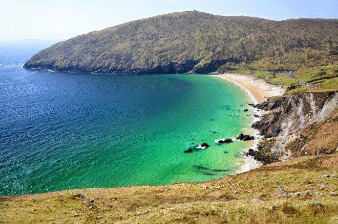 плажна ивица Ирландия