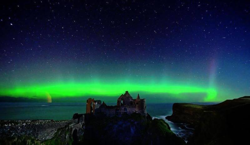 северно сияние ирландия