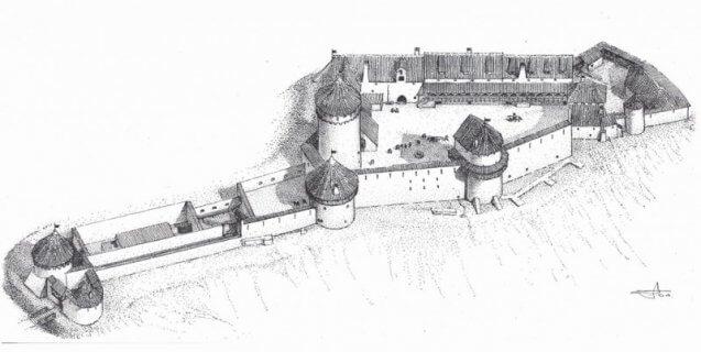 замъкът Турайда