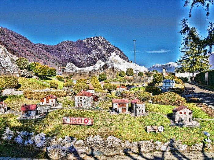 интересен парк до Лугано