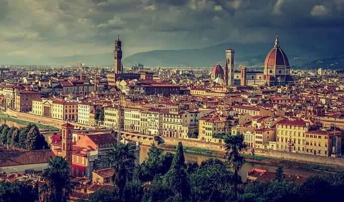 панорама над Флоренция