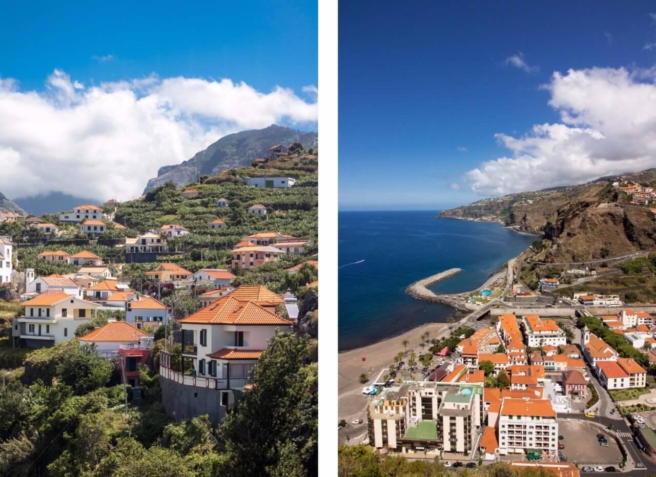 чудни гледки от остеов Мадейра