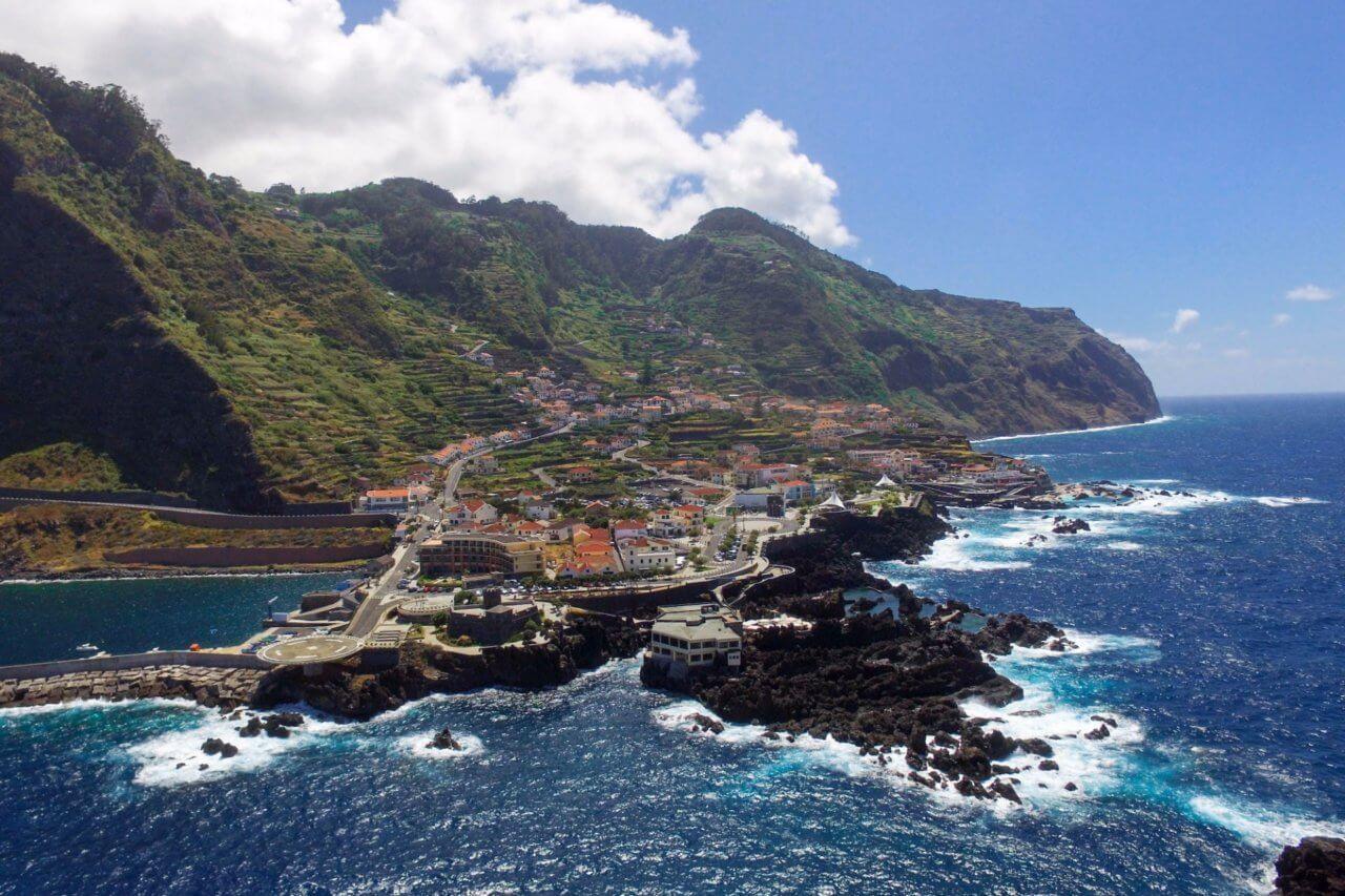 гледка в Мадейра